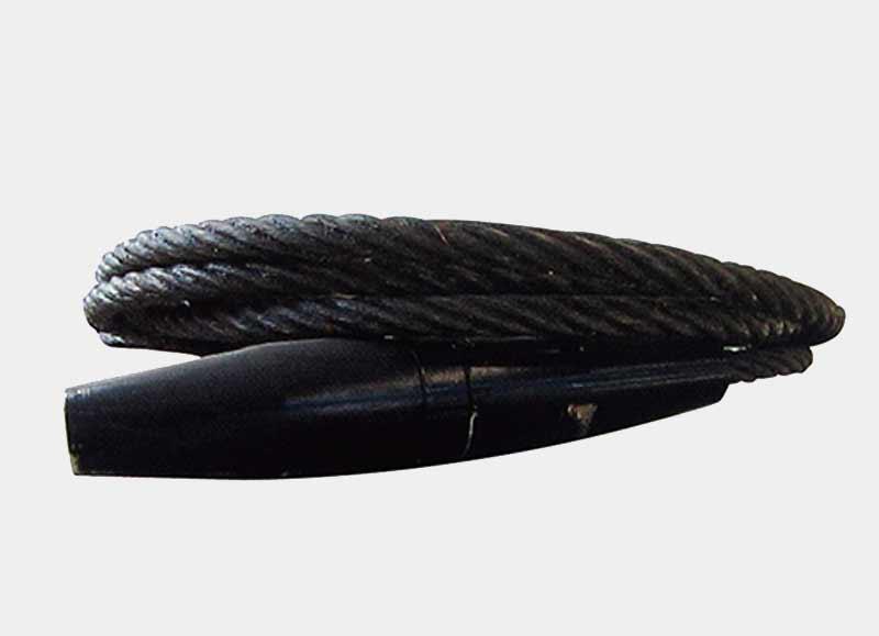 钢丝绳制动式防坠器